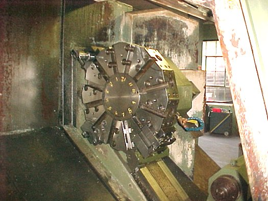 IKEGAI AX-40N,FANUC 6T,32 SWING,23 5/8 OVER CARRIAGE,TAILSTOCK,CHIP, 1982