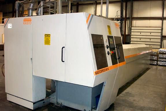 18 KASTO,M-14,5 1/2 CUTTING CAP,SFPM2900.5800,20' LENGTHS, 1999