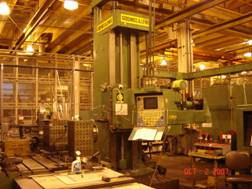 5 GIDDING & LEWIS,PC-50, G & L 800,120 x,72 y,36 spindle,18 w, 30 hp, 1983