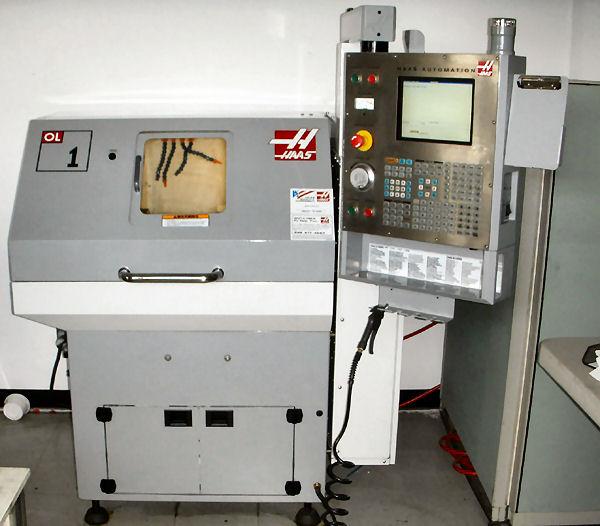 HAAS, No. OL-1, HAAS CNC, GANG TOOL LATHE, 6000 RPM, 5 HP