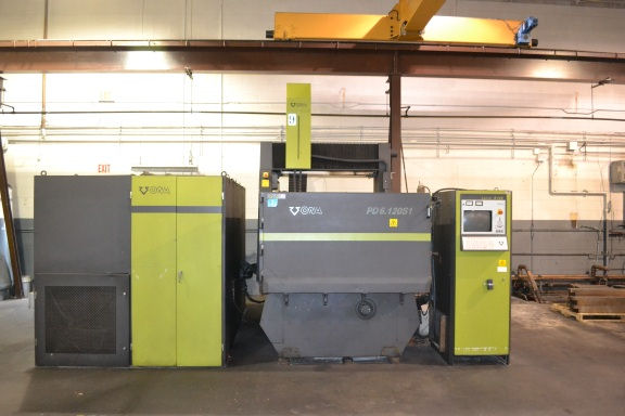 ONA PD 6.120S1, 120 Amp,120 TANK,80 TABLE,79 X,C-AXIS,8 ATC, 1998