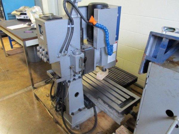Smithy Cnc 1240 Bench Top Cnc Mill 22 X 13 Y 13 5 Z 40 Table 2008 Spirit Machinery Inc