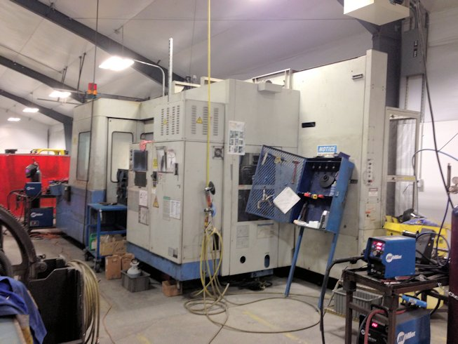 49 X, 39 Y, 33 Z, MAZAK H800,80 ATC,4500 RPM,50 TAPER,35 HP,THRU SP CLNT, 1996