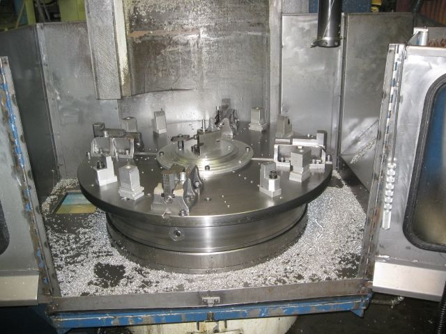 48 GIDDINGS & LEWIS,FANUC 21I-T,4jaw chuck,53 SWING,50 HP, 400 RPM