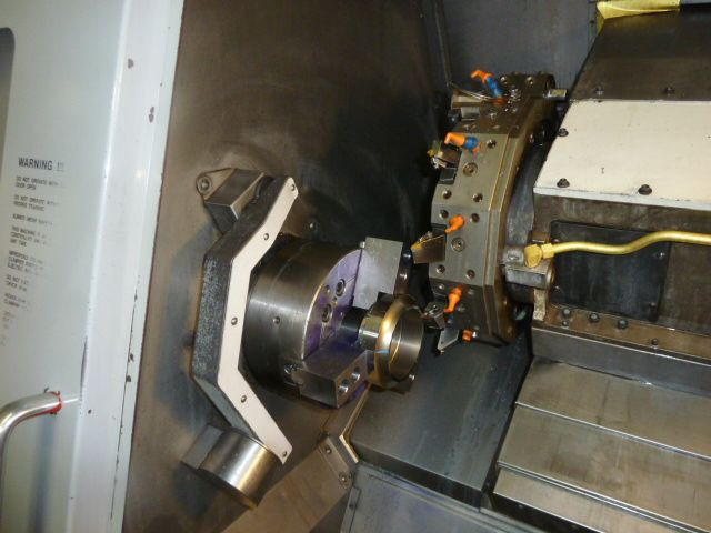 HAAS SL-30T, 10 Chk, 3 ,TAILSTOCK,39 CC,30 SWING,12 TOOL TURRET, 2001