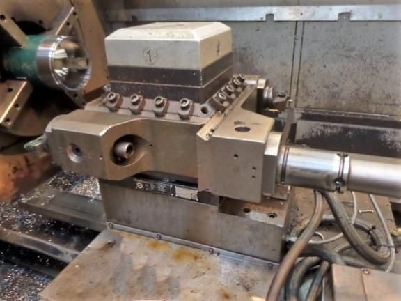 34 x 118 BINNS & BERRY No. 90-850,14.5 SPINDLE HOLE,FANUC OT CNC, 550 RPM
