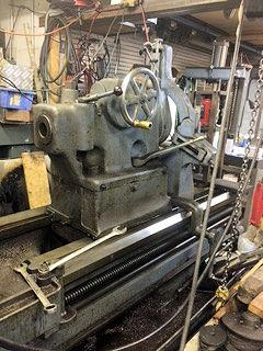 40/52 x 72 cc LODGE & SHIPLEY,DRO, STEADIES,TAILSTOCK,600 RPM,