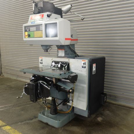 BRIDGEPORT SERIES I MODEL R2E4 CNC VERTICAL MILL WITH BOSS 9 CNC
