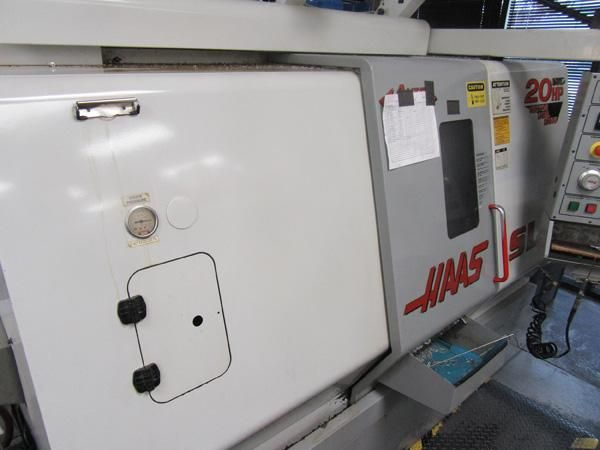 HAAS SL20T, HAAS CNC, 8 Chk, 2 ,23 SWING,20 CC,4000 RPM, TAILSTOCK, 2000