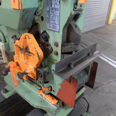 38 TON PEDDINGHAUS,9/16 IN 3/8,1 1/4 IN 3/16,FLAT SHEAR 4 X3.8 1978,